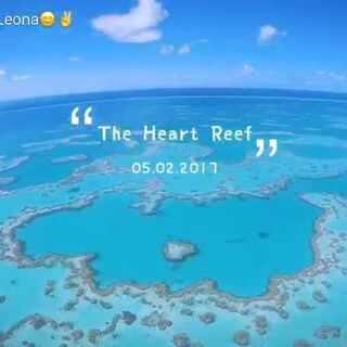 #the#heart reef #澳大利亚##澳大利亚大堡礁#😘