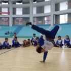 #少儿街舞##我是小学生##校园随拍#小学部街舞宣传片!棒棒的孩子们!