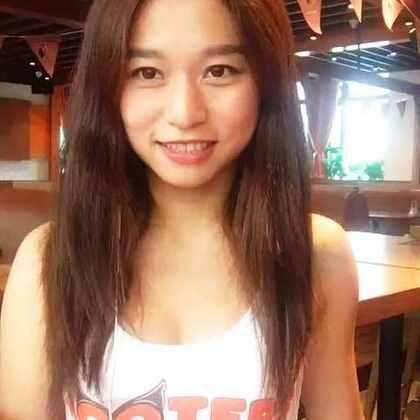 #选美大赛#HOOTERS淮海店的Vivian喊你5月20日18:00来乐城店决赛现场一起Happy!