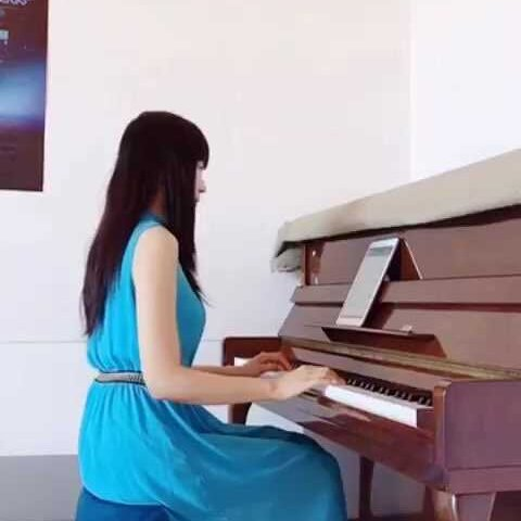 钢琴版童话#音乐##钢琴曲# - 音乐视频 - 琳琳kyu的图片
