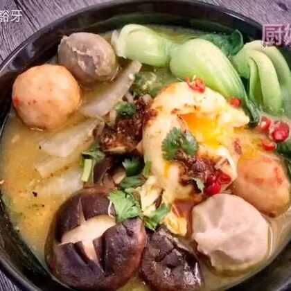 两块咖喱带来的方便美味,这个方法做面条也可以呀,如果是面条需要和鸡蛋一起煮哦😋😄#美食##家常菜##热门#@美食频道官方号 @美拍小助手