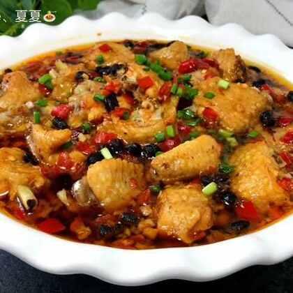 #美食#豆豉剁椒蒸鸡翅 吃完以后汤汁可以煮点面条放里面,特别美味。这种下饭菜总是让人米饭一碗接一碗🙈减肥还是先搁一搁吧😂#入豉美味##家常菜#