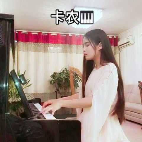 【陈艺鑫CYX美拍】#U乐国际娱乐##钢琴##卡农#想听什么留言...