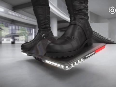 【全球搞笑视频榜美拍】#涨姿势#未来的交通工具?碉堡了...