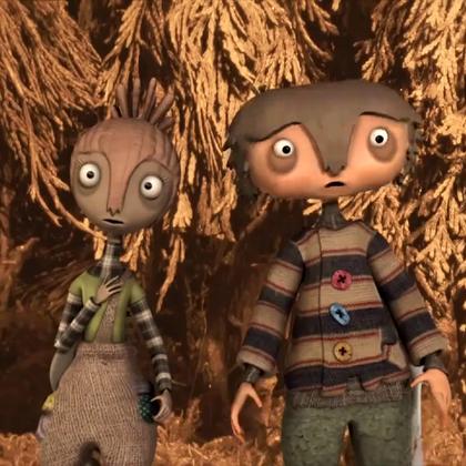 有一点点恐怖的爱情💘💘💘动画,祝所有亲们5.20情人节快乐!