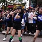 [16.09.10]#舞蹈##PRITTI# Dance Performance 弘大跳舞的熊街头公演