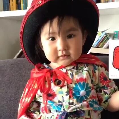 小魔术~玩刀子割手👋玩。亮眼睛👀#宝宝##魔术#