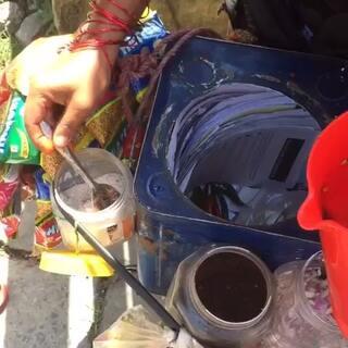 #尼泊尔##旅行##背包客##博卡拉##路边摊美食挑战#神奇的尼泊尔小零食😂😂😂😂