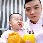 #搞笑宝宝##美食##钱柜手机版客户端#