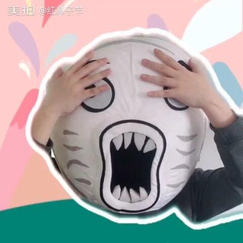 【红鼻子节美拍】#全民红鼻子#为啥就王尼玛的头检...