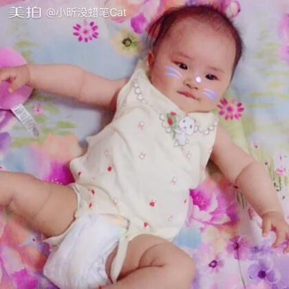 #宝宝#睡前运动🙈