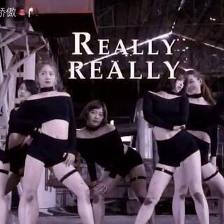 #我要上热门@美拍小助手##敏雅舞蹈#Winner-Really Really 看膝盖就知道我们多拼啦