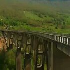 南斯拉夫电影桥的拍摄地,黑山共和国的扎布里亚克。tukkk.com