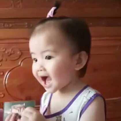 #宝宝##萌宝宝##咖喱咖喱#天气好热,帮小虾米扎个小揪揪😜😜