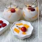 #食战高考##美食##甜品#牛奶水果冻,牛奶➕水果本身就超级配了,再加上滑嫩的口感,简直就是绝配~我反正一下子就解决掉了@美拍小助手 @美食频道官方号