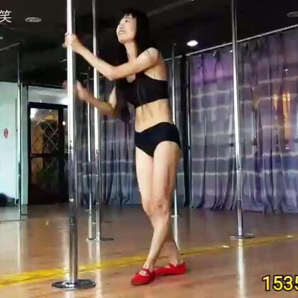 #美拍运动季##钢管舞##女神#钢管舞技巧动作练习