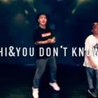 #大志编舞#和徒儿@小哲🎸 强力CP重磅来袭,音乐#You Don't Know me#这段#舞蹈#下午灵感突来,顺脚就跳了出来!帅不帅呢?😉