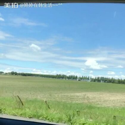 去哈尔滨机场的路上~~ 到处都是风景~~ @美拍小助手 我们还没到家呢 爸爸妈妈就先到家了😂 小速度 嗖嗖的