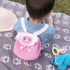 马甲教程快要录完了哈😊录完接着给大家录宝宝背的小熊背包教程哦😊帽子和宝宝脚上的鞋子教程美拍之前都录过了哈😊喜欢的小伙伴可以翻翻😊双肩包材料:五股牛奶棉,3.0mm的钩针,粉色一团,乳白色半团😊2粒6mm的黑色手工珠http://c.b1yt.com/h.8OSamr?cv=XTdOZxbhtYp&sm=fa150e #宝宝##手工#