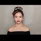 #赫本妆# 赫本复古妆,老鱼映画。想了解更多请加微信:laoyuyinghua
