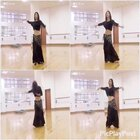#舞蹈##第一个美拍#东方舞技巧展示:直立西米(潇潇)