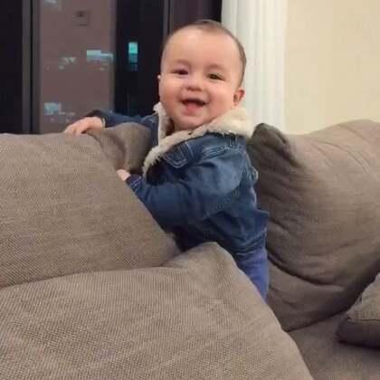 很有活力的小子😂 #男寶寶再過幾天就滿10個月了☺️#