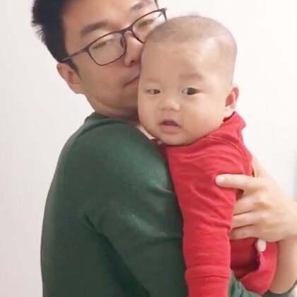 柚子和爸爸的小合集~看来这一年多相处的还不错哦~#宝宝##父亲节秀恩爱#