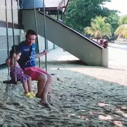 #annie环游记#马来西亚🇲🇾刁曼岛,6月18日父亲节(上)#annie和爸爸##宝宝#这几天的视频待我慢慢上传😉
