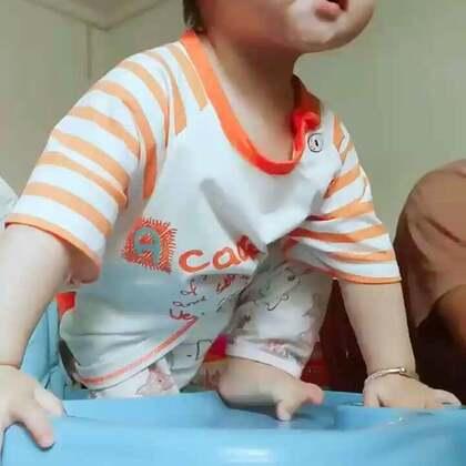 #宝宝##萌宝宝##搞笑宝宝#我可能生了个假女儿,这明显是个汉子😂😂