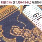 感受下拥有1700年历史的旧绘画技术,这操作精度让人佩服!#才艺#