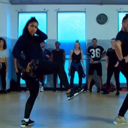 Bad Bitch by BebeRexha _ #舞蹈# DanaAlexaNY & HamiltonEvans Collab Choreography 【微博美拍同名:I_AM_Dancer】