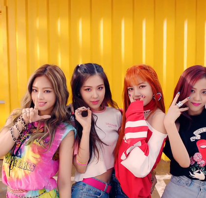 BLACKPINK - '마지막처럼 (AS IF IT'S YOUR LAST)' MV#BLACKPINK##舞蹈##音乐#