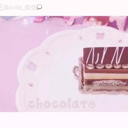 #手工#『奶油巧克力脆』原创模仿艾特,背景很抢镜哈哈哈🌝