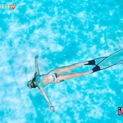 #自由潜水# 遇见美人鱼🐟🐠,遇见另一个自己🐠!#运动##美拍运动季#😻👙🐬🦈🐳🐋