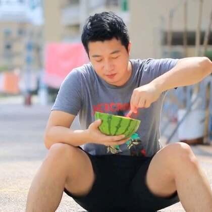 #小布的日常生活# 吃个西瓜都没办法好好吃 #搞笑##宠物#