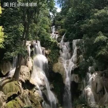 老挝#关西瀑布#