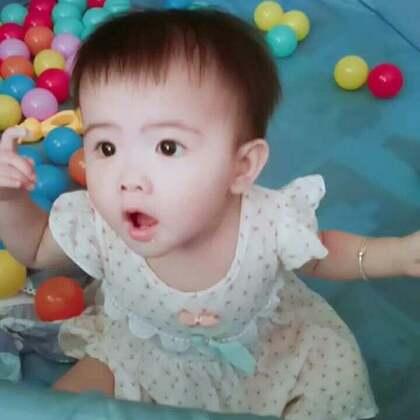 #宝宝##萌宝宝##宝宝跳舞#和小虾米舞动起来😁😁