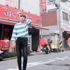#鲜肉U乐国际娱乐##韩国留学生# 在拍鬼怪的海边#孤独又灿烂的神-鬼怪#