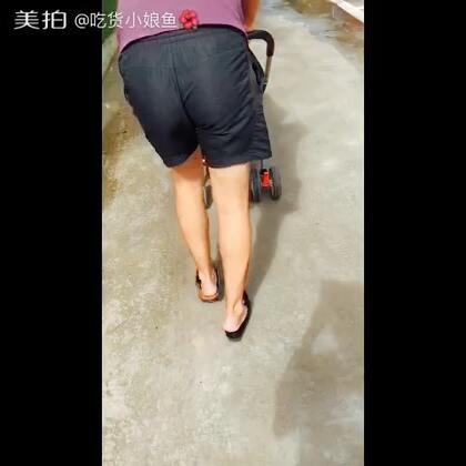 #花式虐狗#早上出门走一圈,把脚走破皮了,他说那穿我的吧,然就是把我鞋子撑大了#我要上热门#