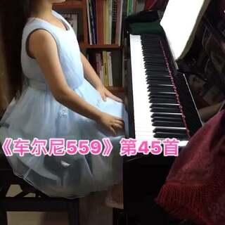 #小小钢琴家##音乐#这是今天小宝练习这周回课后作业的小记录2⃣