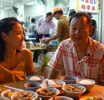 马来西亚一家福建老字号肉骨茶店,好吃不贵,生意火爆!#hi走啦##带着美拍去旅行##美食#