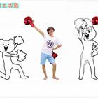 超带感~忍不住抖腿的熊头人舞!#洗脑##带感#☺