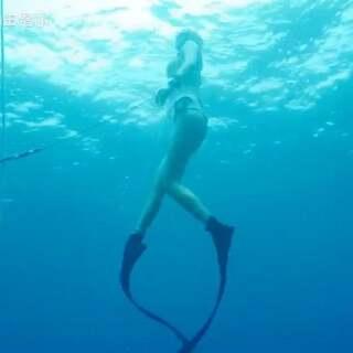 自由潜水的毒比戒烟还难!#AIDA自由潜水##自由潜水课程##我要上热门#