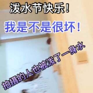 @初夏🍓🍓雨 #搞笑#洗澡被泼!那个人好惨!😝😜😜😜😜😎😎😎😎😈👿#泼水节#其实我是穿绿色衣服的人!#chhdhj#