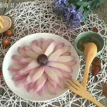 胭脂山药#美食#炎炎夏日,来一道清爽简单的凉菜吧~#家常菜##甜品#