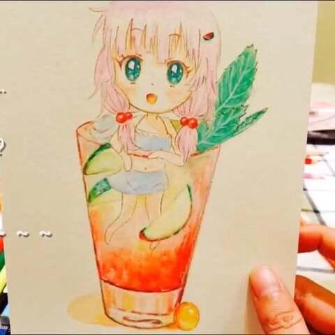 小葩手绘画教程