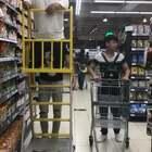 这样逛超市才够嘚瑟😄