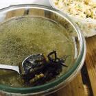 虫草汤搭海胆炒饭 还不错😀