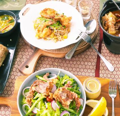 这一桌让人流口水的菜系,@阿葩罩爷 和 @Adacrew陈鹭宏 吃的停不下来,还有餐厅老总亲自为他们服务!#hi走啦##带着美拍去旅行##美食#
