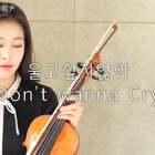 Seventeen-Don't wanna cry 😢 #音乐##女神##小提琴#